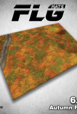 Frontline-Gaming FLG Mats: Autumn Field 6x4'