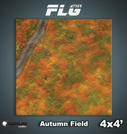 Frontline Gaming FLG Mats: Autumn Field 4x4'