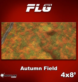 Frontline-Gaming FLG Mats: Autumn Field 4x8'
