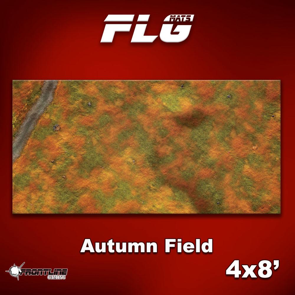Frontline-Gaming FLG Mats: Autumn Field 4x8'