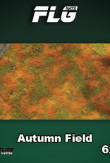 Frontline-Gaming FLG Mats: Autumn Field 6x3'