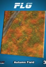 Frontline-Gaming FLG Mats: Autumn Field 3x3'