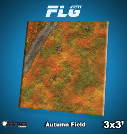 Frontline-Gaming FLG Mats: Autumn Field 3x3'
