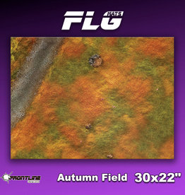 "Frontline-Gaming FLG Mats: Autumn Field 30"" x 22"""