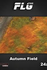 "Frontline-Gaming FLG Mats: Autumn Field 24"" x 14"""