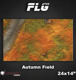 "Frontline Gaming FLG Mats: Autumn Field 24"" x 14"""