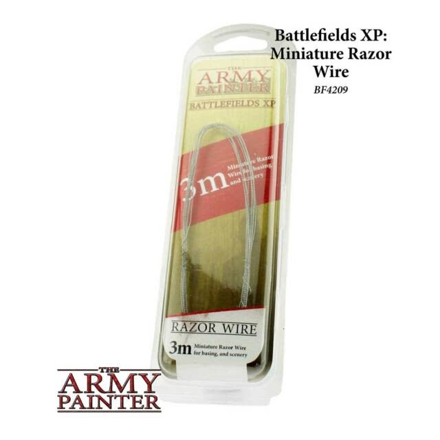 The Army Painter Battlefield: Basing: Razor Wire, 3m