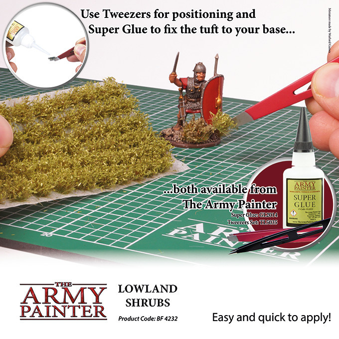 The Army Painter Battlefield: Foliage: Lowland Shrubs