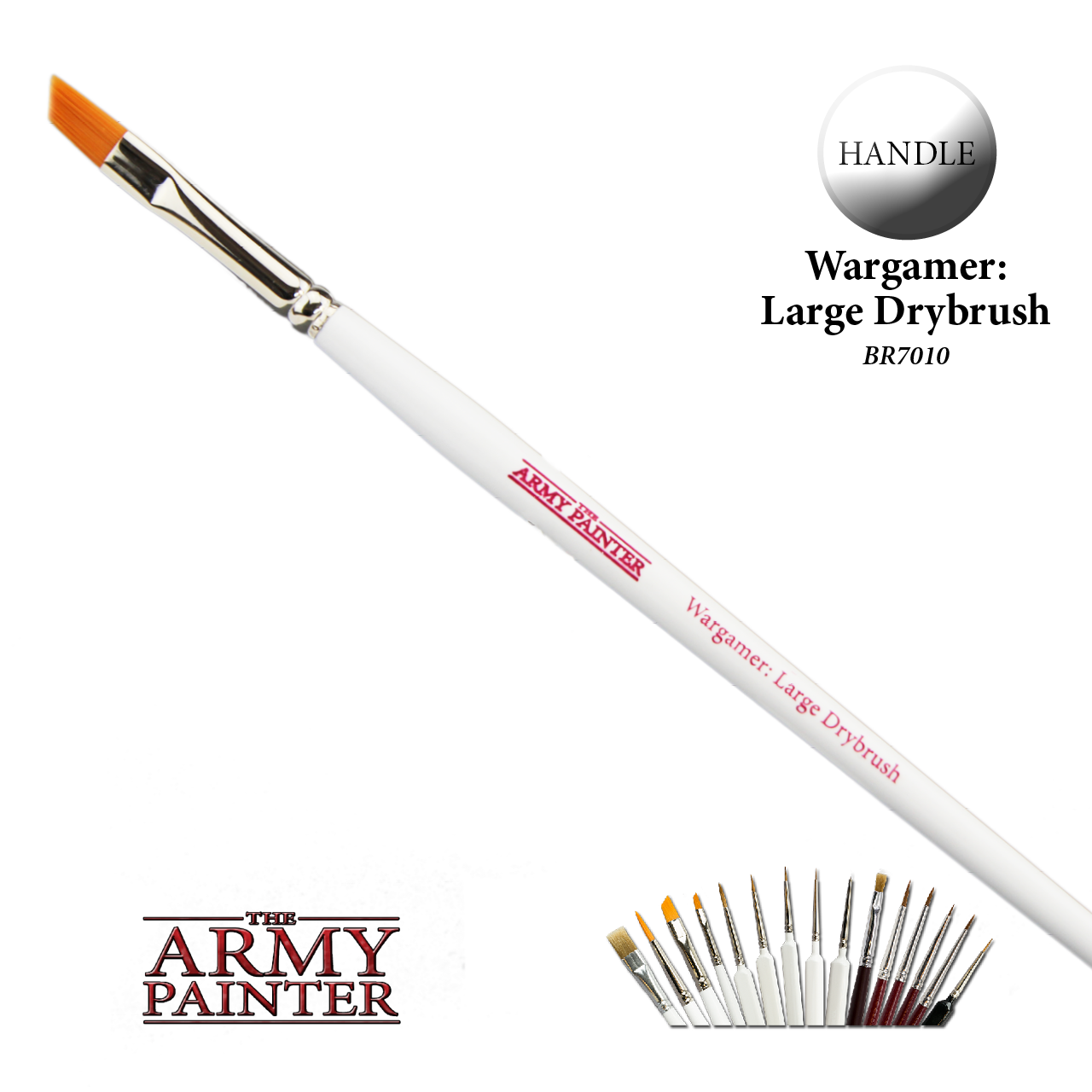 The Army Painter Brush: Wargamer Large Drybush