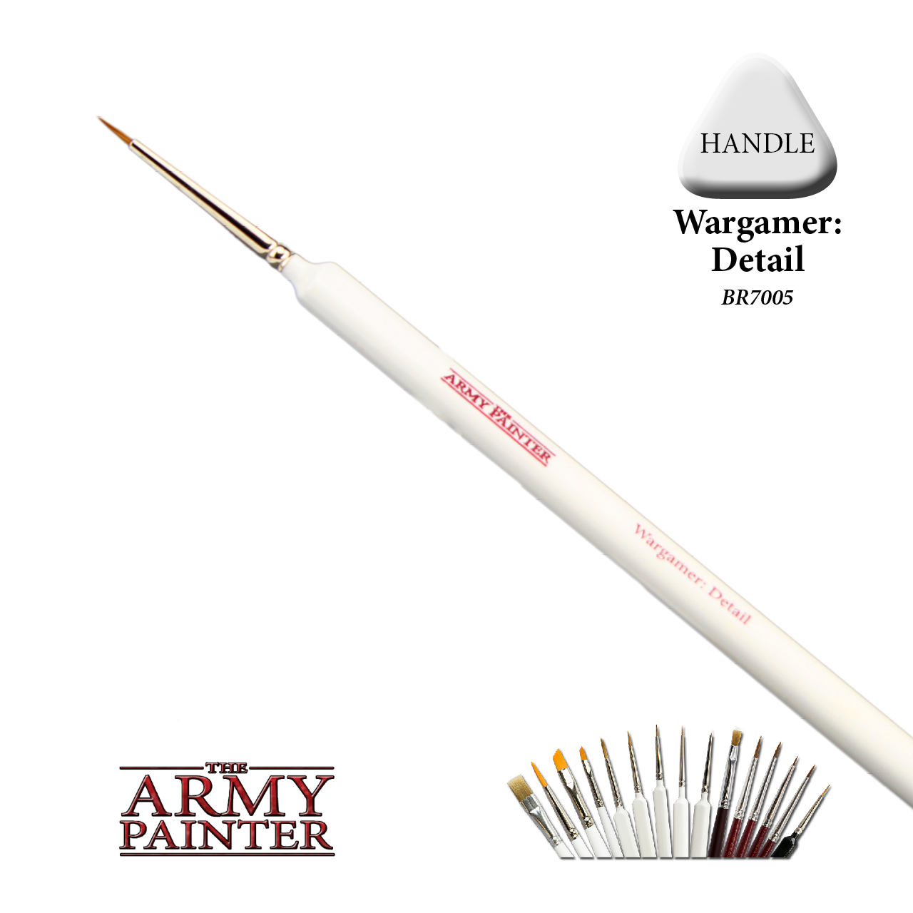 The Army Painter Brush: Wargamer Detail