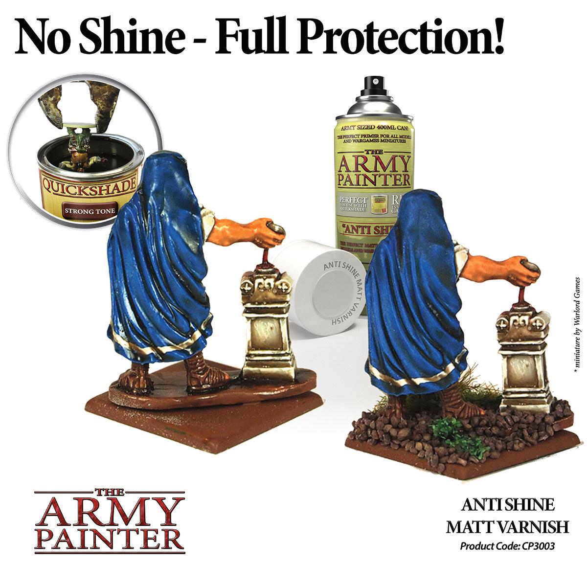 The Army Painter Varnish: Anti-Shine Matt