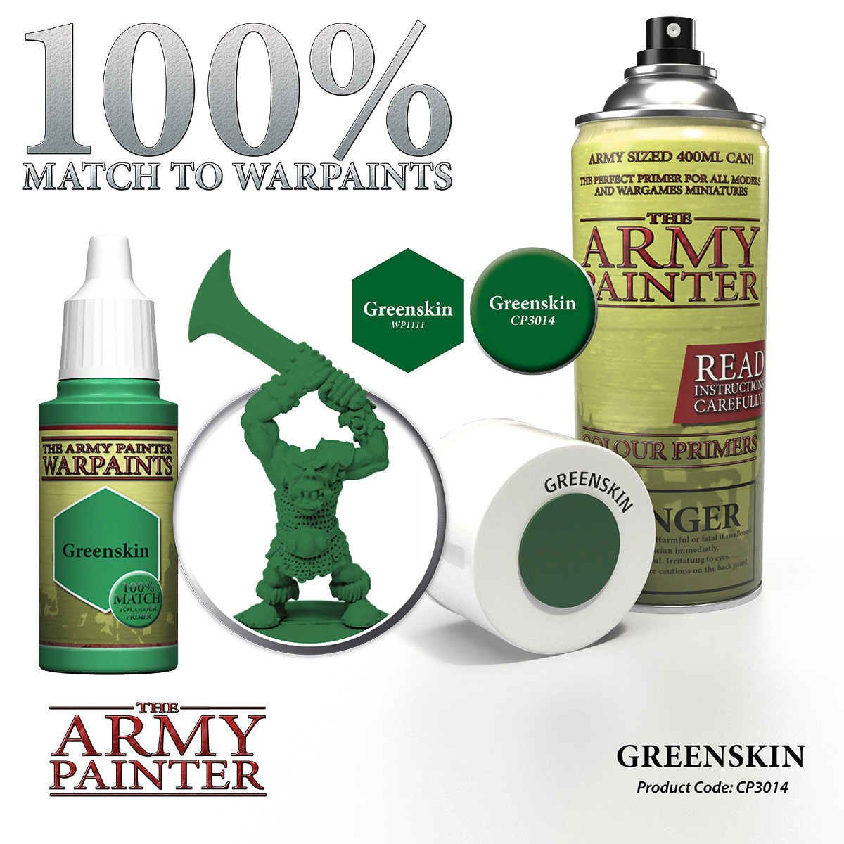 The Army Painter Primer: Colour Greenskin