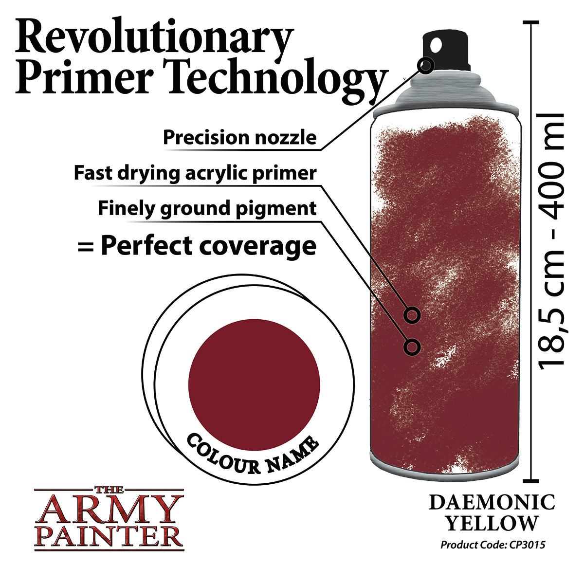 The Army Painter Primer: Colour Daemonic Yellow