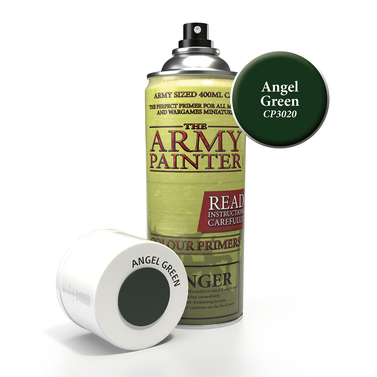The Army Painter Primer: Colour Angel Green