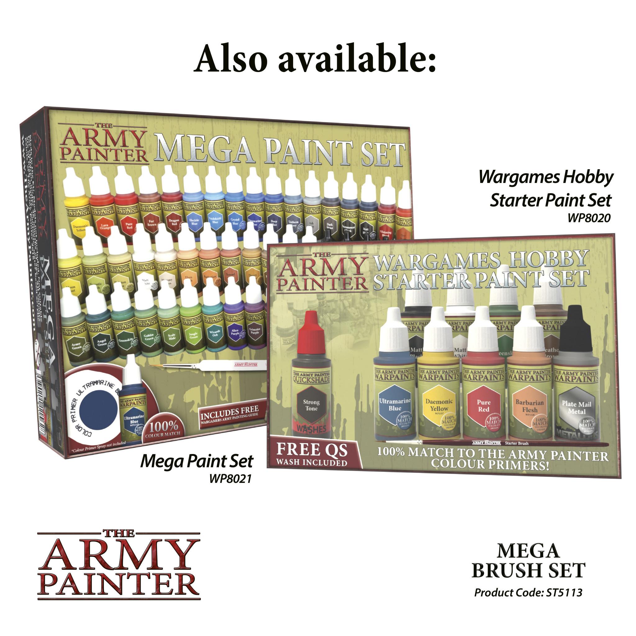 The Army Painter Brush: Mega Set