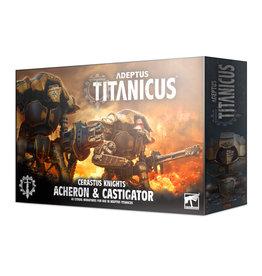 Games Workshop Adeptus Titanicus: Cerastus Knights Acheron and Castigator