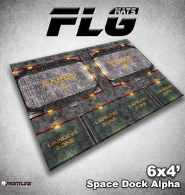 Frontline-Gaming FLG Mats: Space Dock Alpha 6x4'
