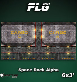 Frontline-Gaming FLG Mats: Space Dock Alpha 6x3'
