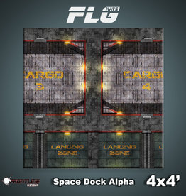Frontline-Gaming FLG Mats: Space Dock Alpha 4x4'