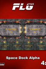 Frontline-Gaming FLG Mats: Space Dock Alpha 4x8'