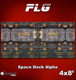 Frontline-Gaming FLG Mats: Space Dock Alpha 4x8'