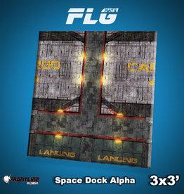 Frontline-Gaming FLG Mats: Space Dock Alpha 3x3'