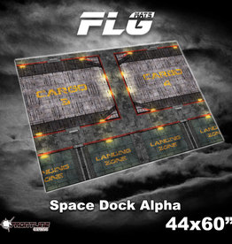 "Frontline-Gaming FLG Mats: Space Dock Alpha 44"" x 60"""