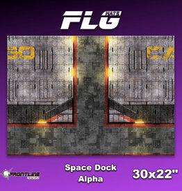 "Frontline-Gaming FLG Mats: Space Dock Alpha 30"" x 22"""