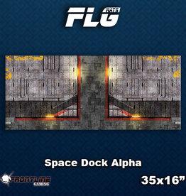 Frontline-Gaming FLG Mats: Space Dock Alpha Desk Mat