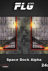 "Frontline-Gaming FLG Mats: Space Dock Alpha 24"" x 14"""