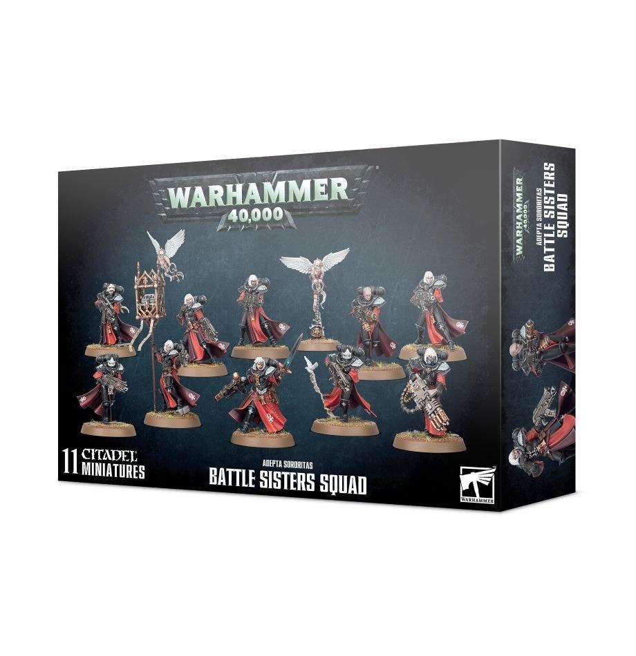 Games-Workshop Adepta Sororitas Battle Sisters Squad