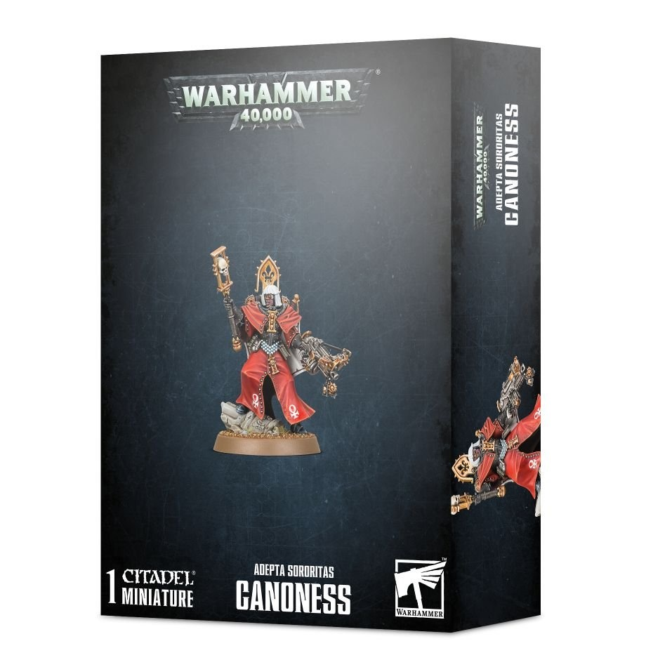 Games-Workshop Adepta Sororitas Canoness