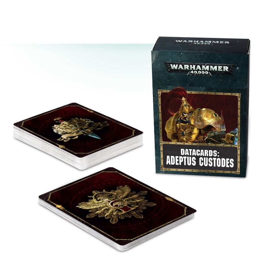 Games-Workshop Datacards: Adeptus Custodes (Eng)