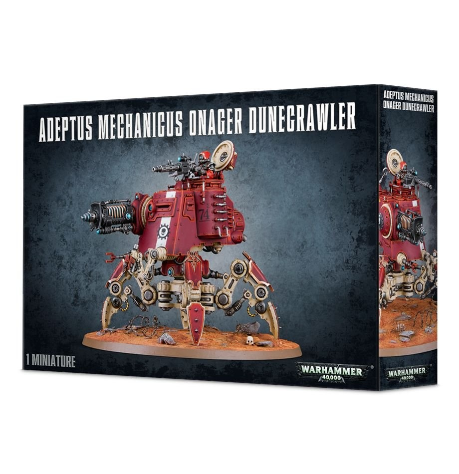 Games-Workshop Adeptus Mechanicus Onager Dunecrawler