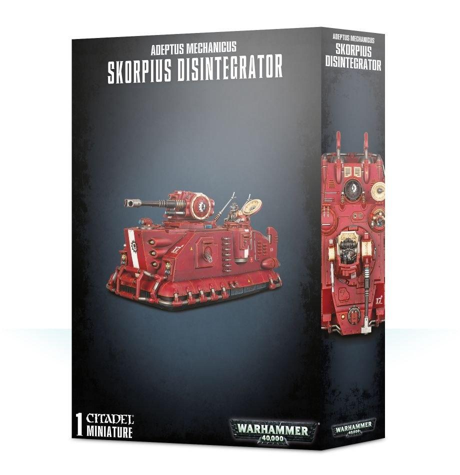 Games-Workshop Adeptus Mechanicus: Skorpius Disintegrator