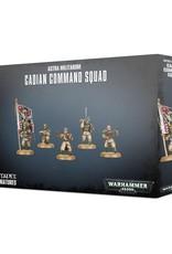 Games-Workshop Astra Militarum Cadian Command Squad