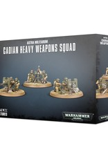 Games-Workshop Astra Militarum Cadian Heavy Weapon Squad