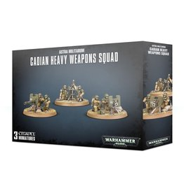 Games-Workshop Astra Militarum Cadian Heavy Weapon Squad