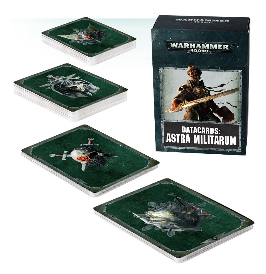 Games-Workshop Datacards: Astra Militarum (English)