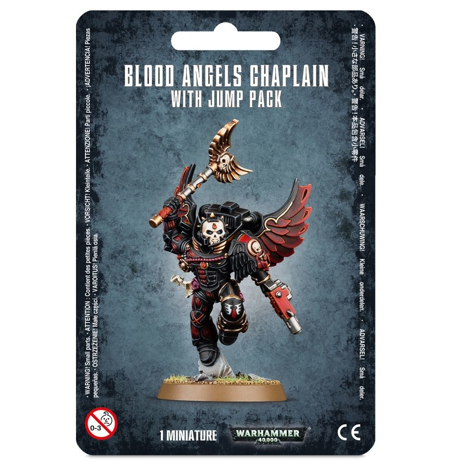 Games-Workshop Blood Angels Chaplain With Jump Pack