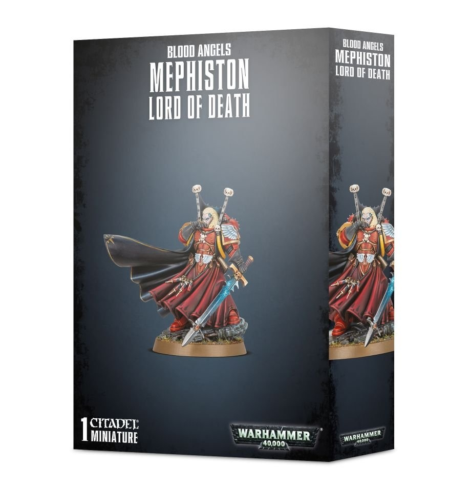 Games-Workshop Blood Angels Mephiston Lord Of Death