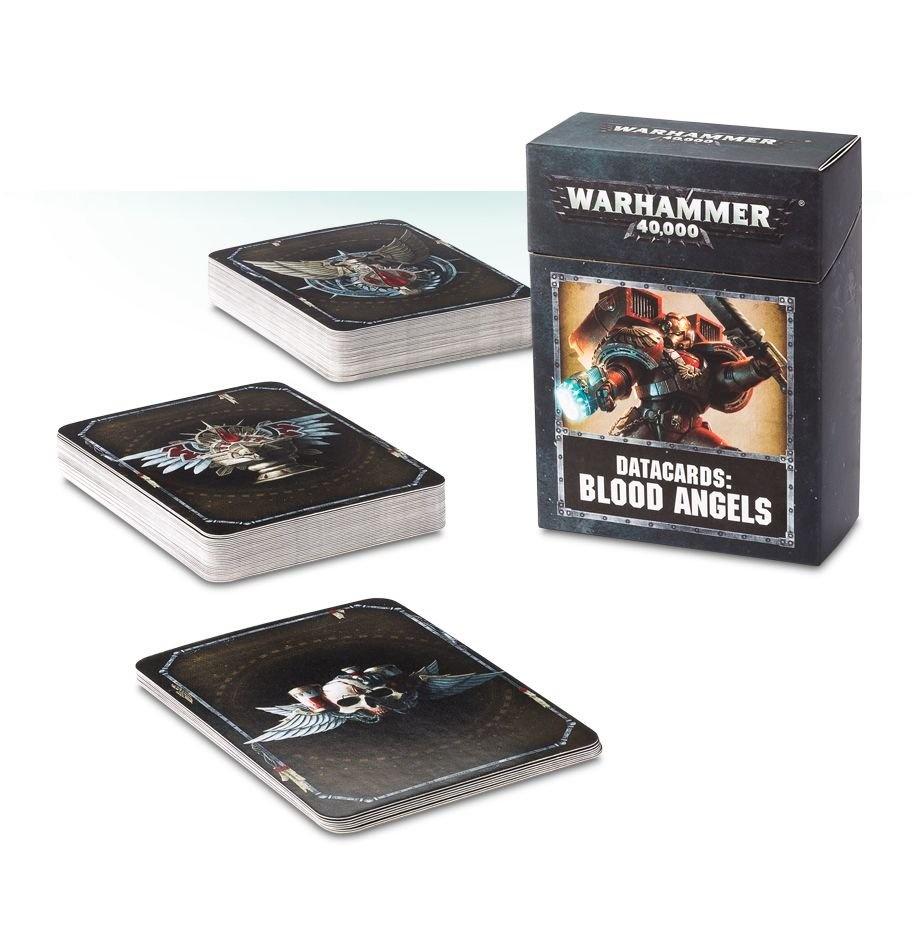 Games-Workshop Datacards: Blood Angels (English)