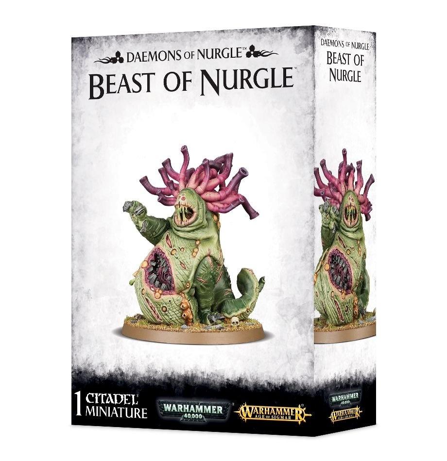 Games-Workshop Daemons Of Nurgle Beast Of Nurgle