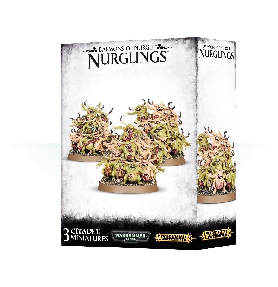 Games-Workshop Daemons Of Nurgle Nurglings