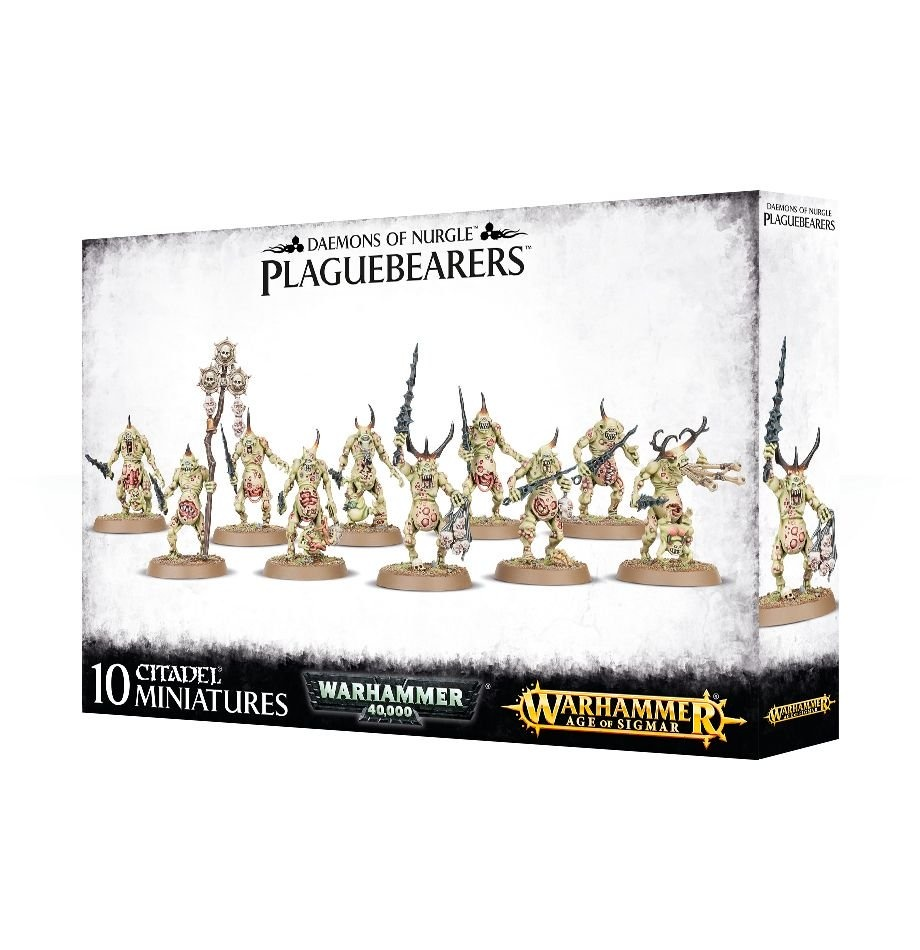 Games-Workshop Daemons Of Nurgle Plaguebearers