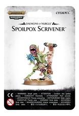 Games-Workshop Daemons Of Nurgle: Spoilpox Scrivener