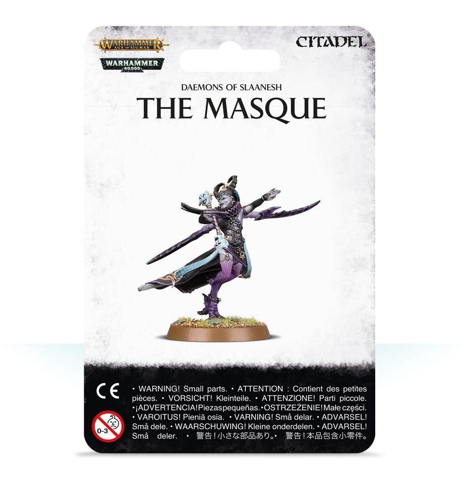 Games-Workshop Daemons Of Slaanesh: The Masque