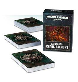 Games-Workshop Datacards: Chaos Daemons (English)