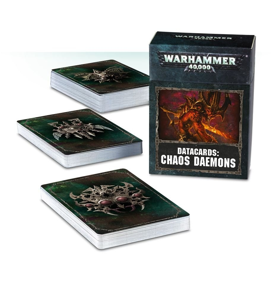 Games-Workshop Datacards: Chaos Daemons (English)