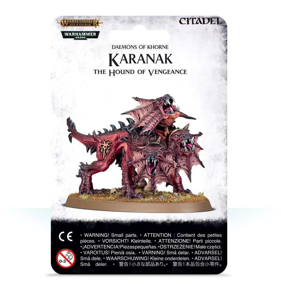 Games-Workshop Karanak The Hound Of Vengeance